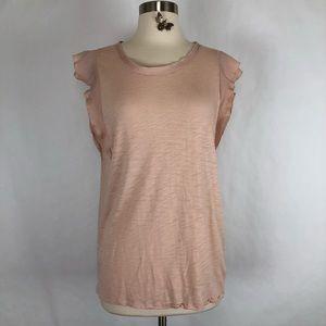 GAP blush pink blouse size Medium